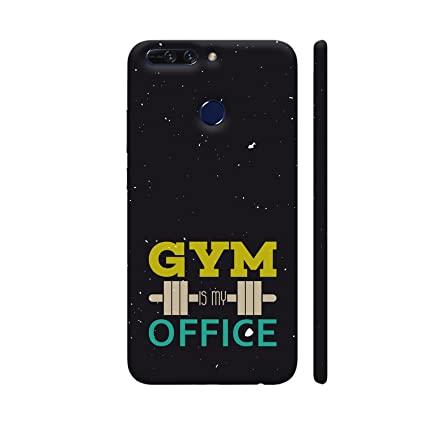 huge selection of db731 8ac7e Colorpur Gym is My Office Printed Back Case Cover for: Amazon.in ...