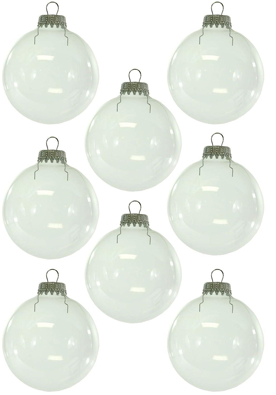 Clear glass ball ornaments - Clear Glass Ball Ornaments 12