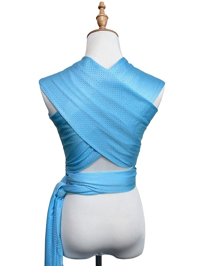 Vlokup Baby wrap Infant Carrier Water Sling Warm Weather Lightweight Quick Dry Breathable Lakeblue