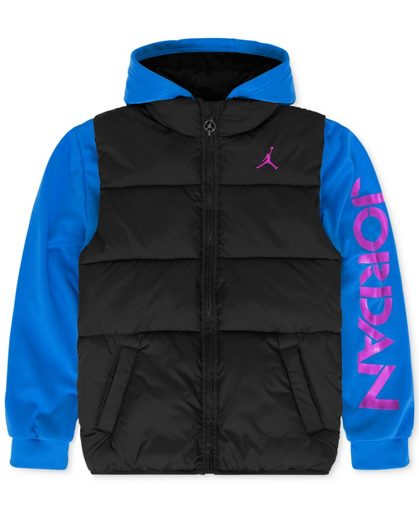 Jordan Boys' Classic 2-Fer Jacket by Nike
