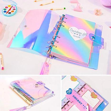 Amazon.com: LQT Ltd A6 Spiral Notebook Planner Organizer ...