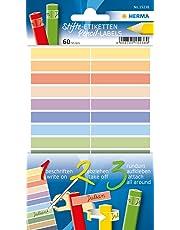 HERMA 15238 Rectángulo Permanente Multicolor 60pieza(s) - Etiqueta autoadhesiva (Multicolor, Rectángulo, Permanente, Papel, 46 mm, 10 mm)