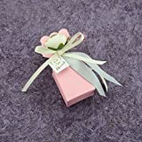 Moleya Pack of 20 pcs DIY Wedding Favors Candy