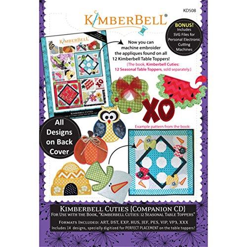 - Kimberbell Cuties Companion CD Machine Embroidery KD508 Patterns