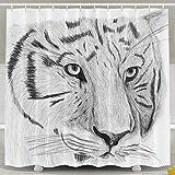 Best jack shop Shower Heads - AIRCRY SHOP Eco-Friendly Tiger Head Sketch Art Pencil Review