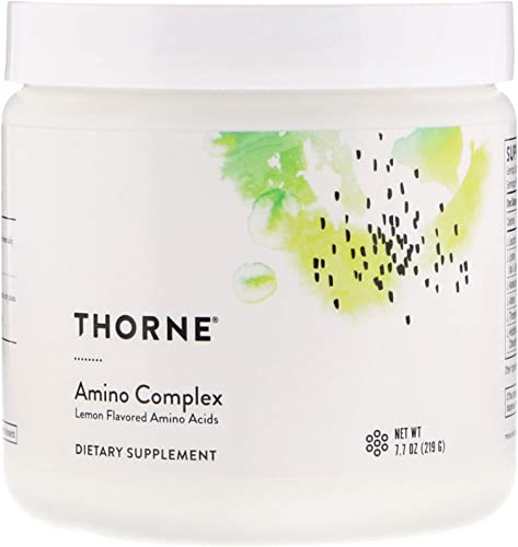Thorne Research – Amino Complex – Lemon Flavor – 7.7 oz – 2 Pack
