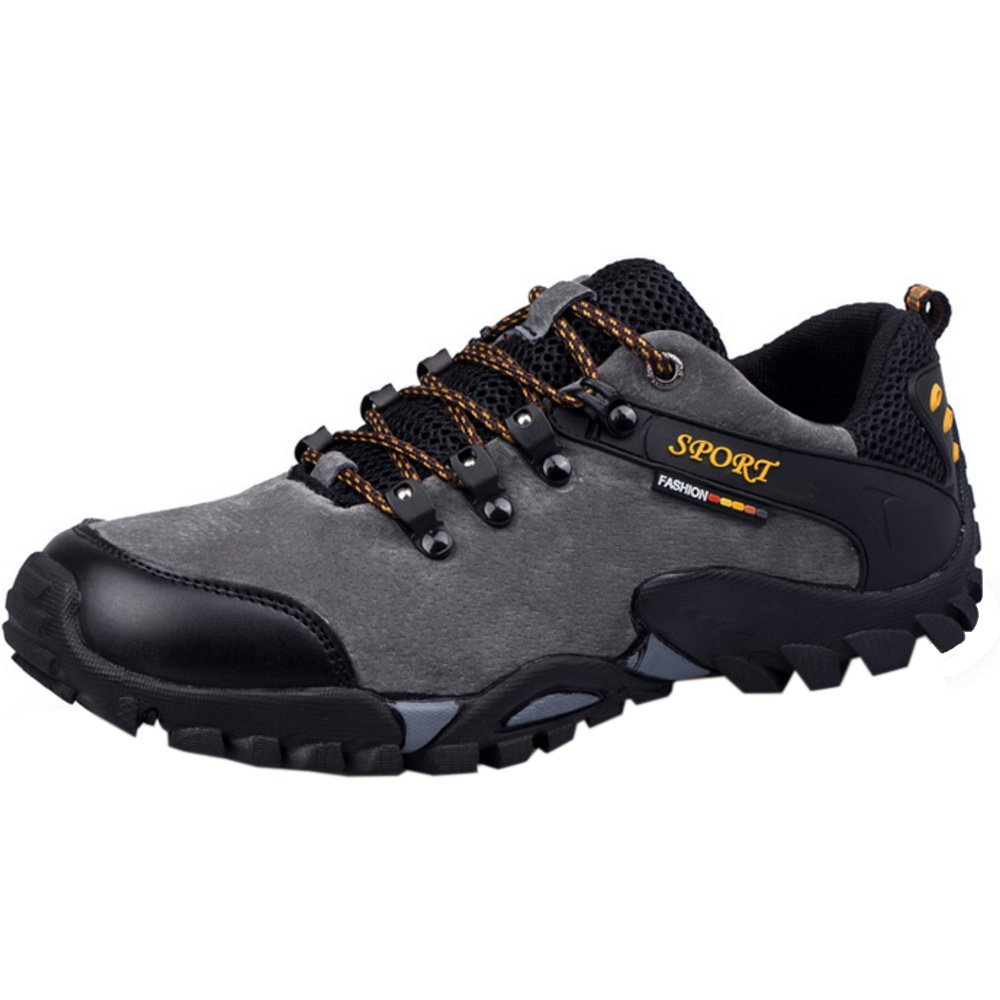 RAZAMAZA Zapatos de Trekking Hiking Shoes para Hombre 41 EU|Grey