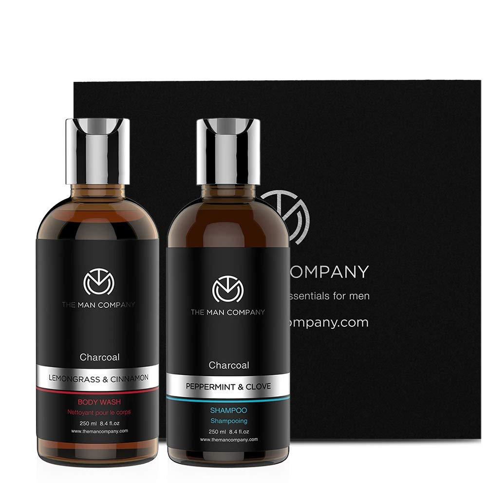 The Man Company Activated Charcoal Combo Pack for Men