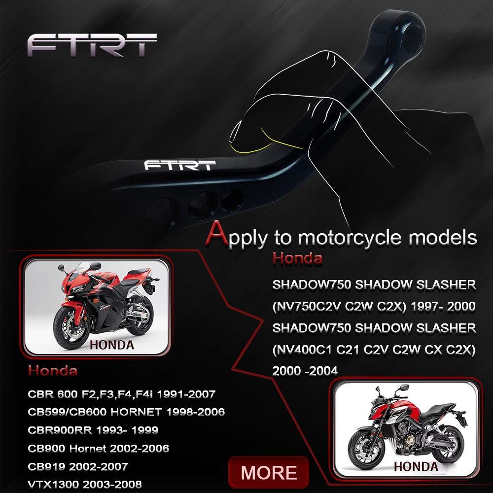 Leve frizione freno corto FTRT per Yamaha YZF R1 2004-2008 YZF R6 2005-2016,R6S 2006-2007,Blu