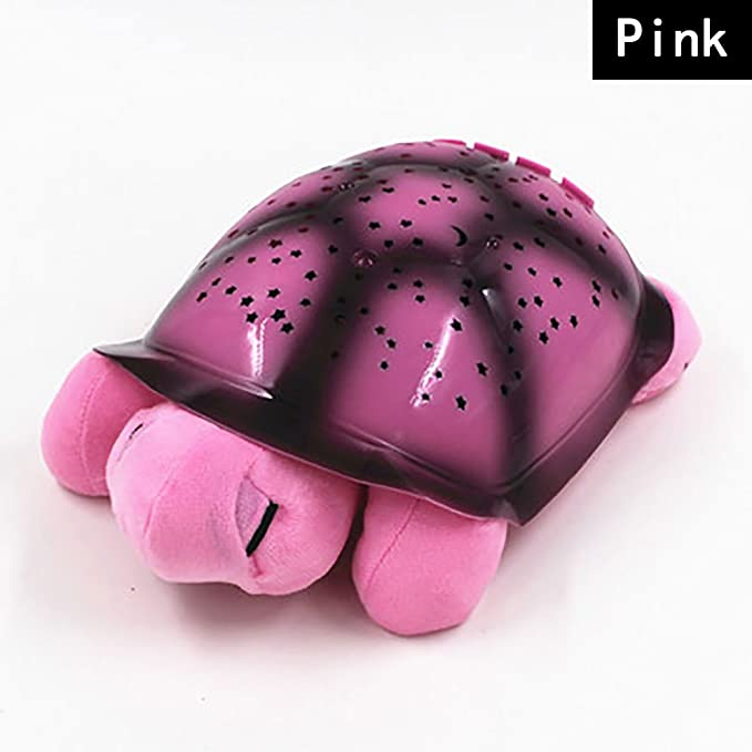 Fruit green Turtle Rainbow Sleeping Constellation Night Light Projector with baby sleep aid sound soother USB Powered Plush Star and Galaxy Projection for Infant Kids Slumber Buddies The turtlenight