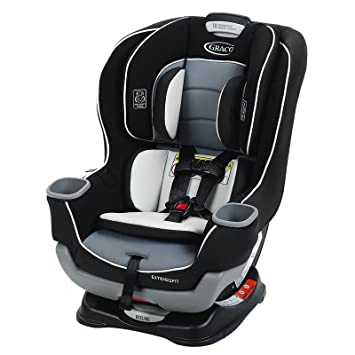 Amazon Com Graco Extend2fit Convertible Car Seat Gotham Baby