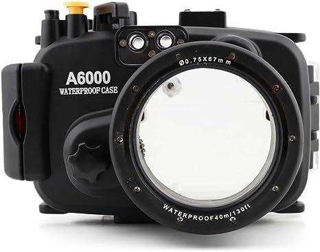 carcasa submarina para cámara SONY A6000: Amazon.es ...