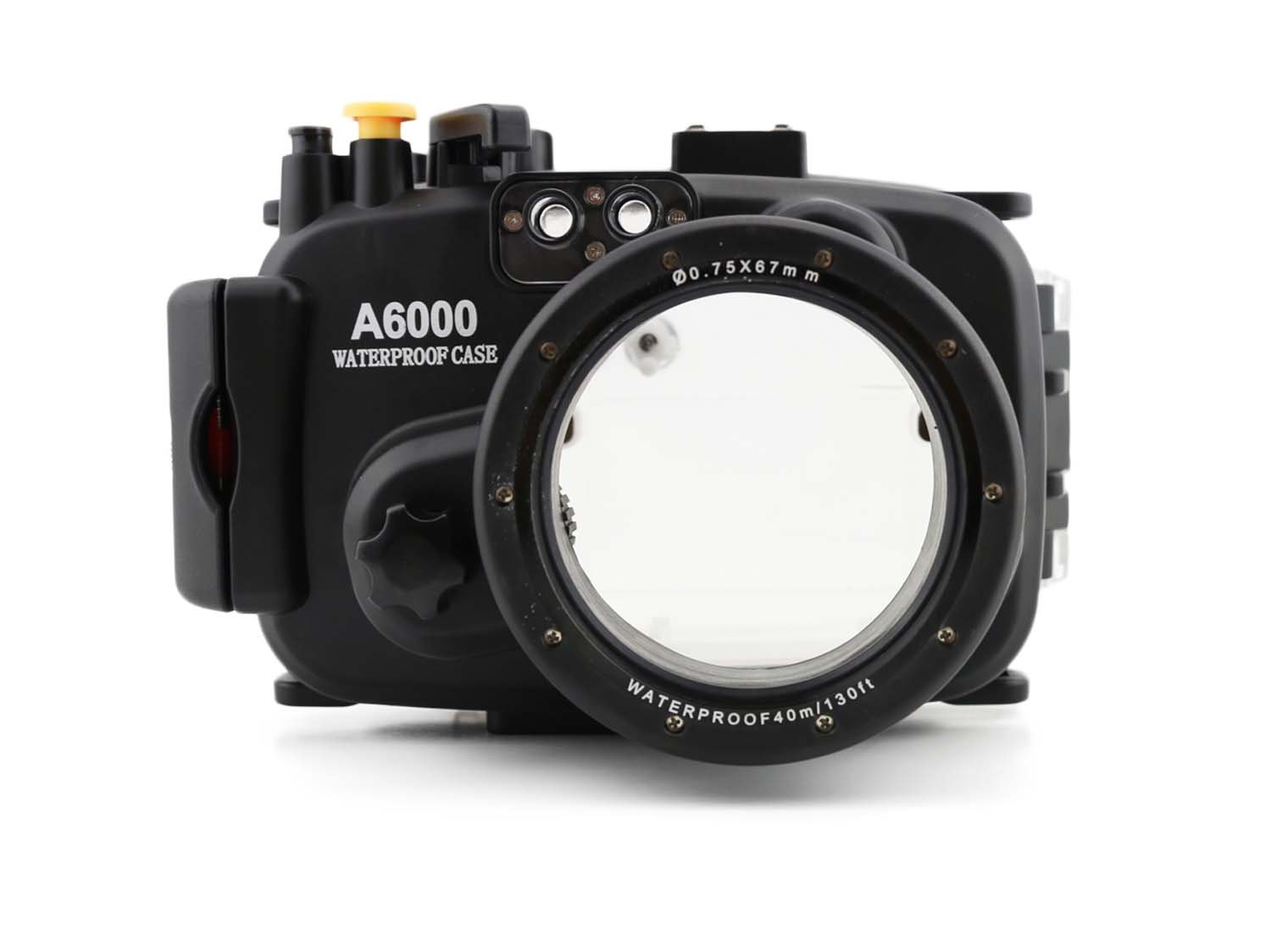 CameraPlus - High Performance Underwater Case Camera Housing Diving For SONY A6000 Up To 40 Meters(130ft.)