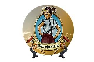 Piatti Vacanza Agenzia Di Viaggi Oktoberfest Ceramica Stampato