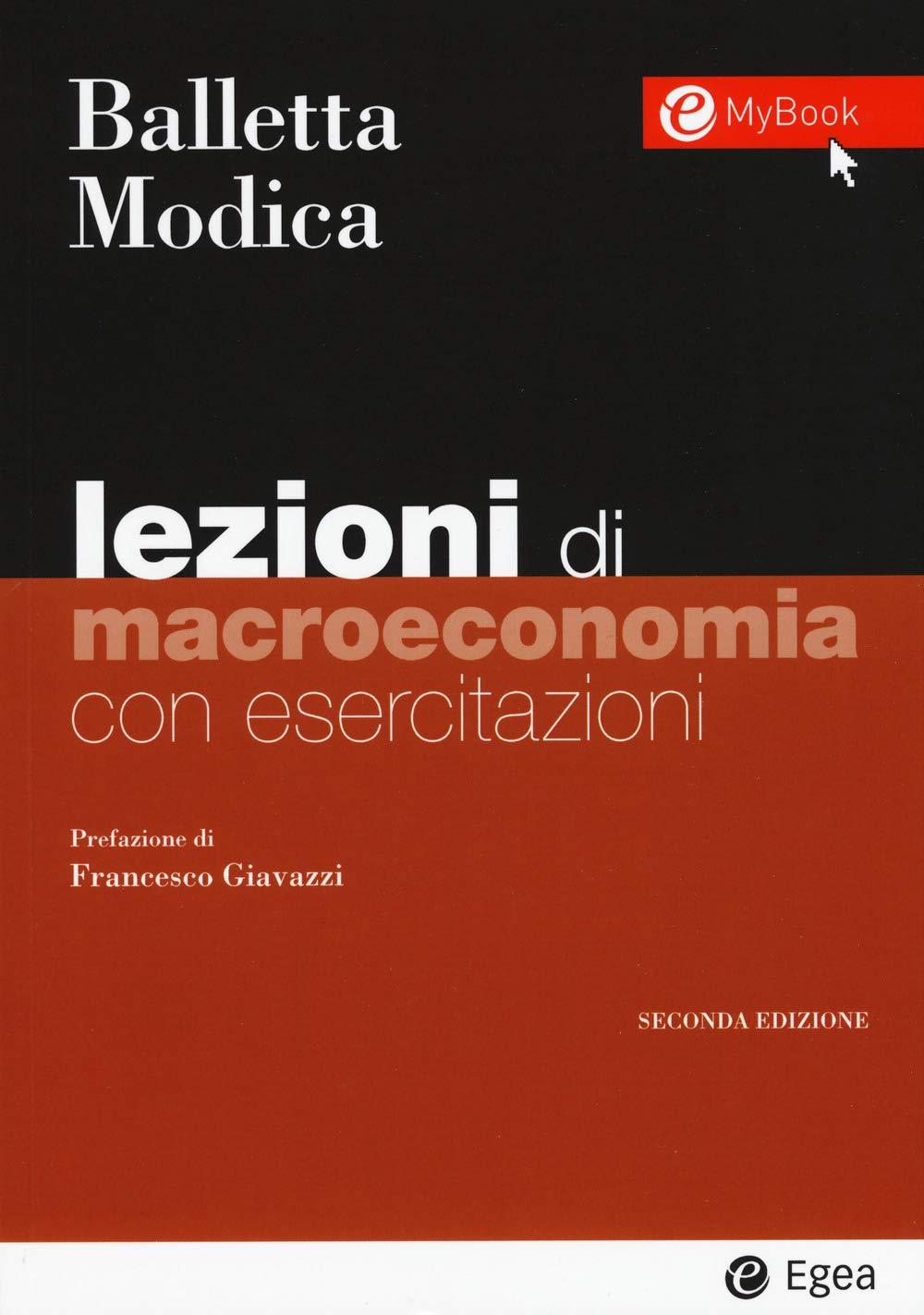 Lezioni di macroeconomia. Con esercitazioni