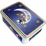 """Boite métal """"Chats dans la lune"""" - fabriqué en France - créateur Kalam"""