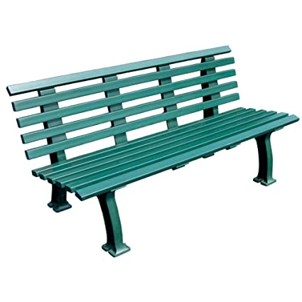 Amazon Com Tourna Courtside Bench Heavy Duty 5 Foot Green Tennis
