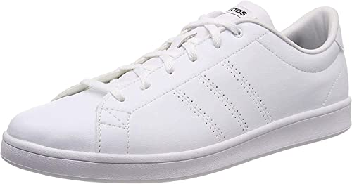 Adidas Tenis Advantage Clean QT para Mujer, Color Blanco.