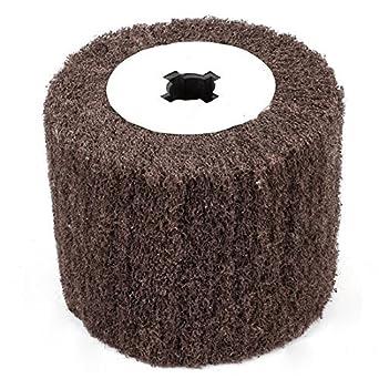 No Tejido eDealMax 120 Arena abrasiva de pulido de la Aleta de ruedas, de 120 mm x 20 mm x 98 mm: Amazon.com: Industrial & Scientific