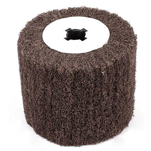 - eDealMax 120 Grit Non Tessuto abrasivo Grinding Flap a rotelle, 120 millimetri x 20mm x 98 millimetri