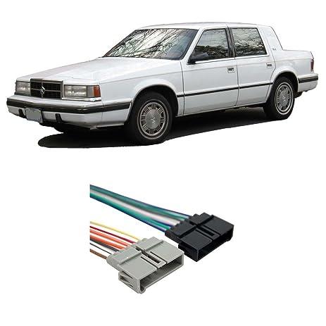 amazon com dodge dynasty 1988 1993 factory stereo to aftermarket rh amazon com