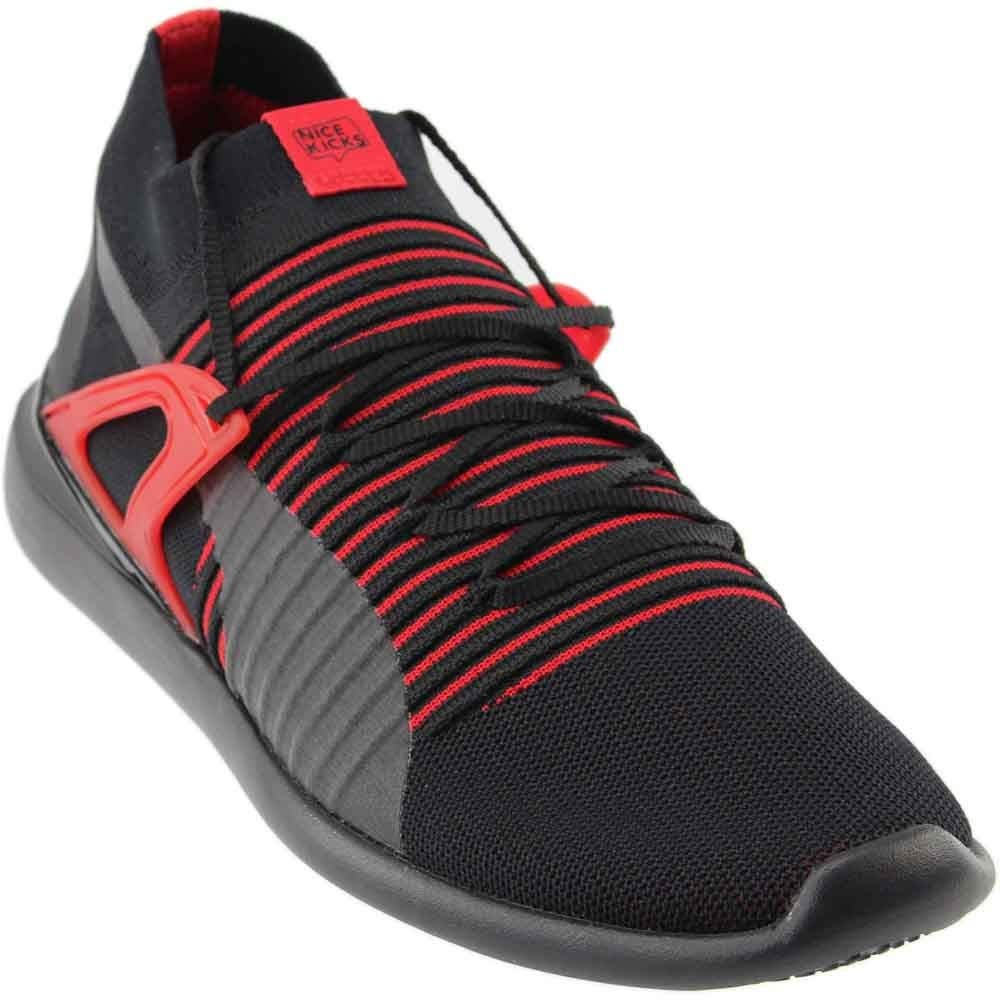 PUMA Mens Scuderia Ferrari Evo Cat X Nice Kicks SMU Casual Sneakers, Black, 8.5 by PUMA