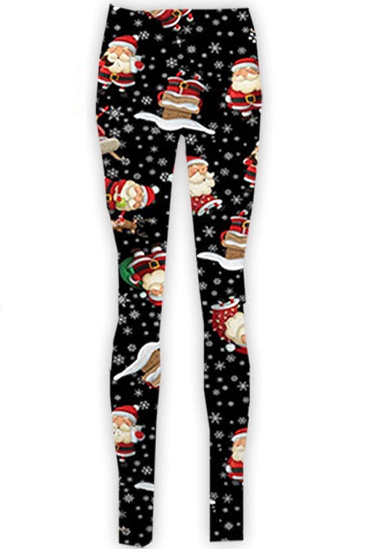 Fashion Star Girls Christmas Ginger Bread Reindeer Leggings