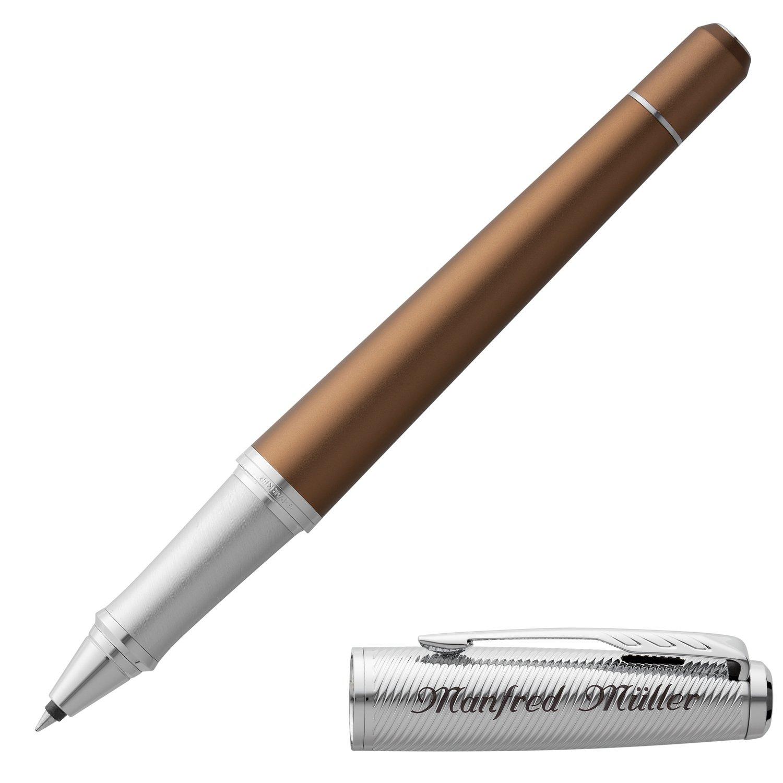 PARKER Schreibset URBAN PREMIUM Green C.C mit Gravur Tintenroller und Kugelschreiber mit Geschenk-Etui