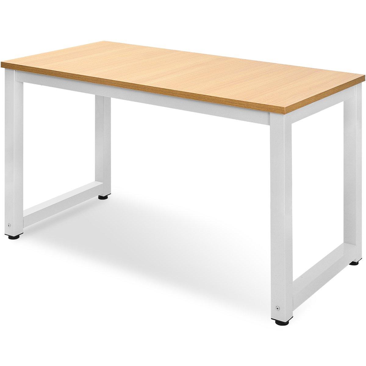 Merax /® Scrivania e Tavolo da Lavoro per PC