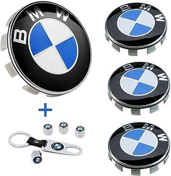 68mm BMW Rim Center Hub Caps for All Models with BMW Wheels Logo Blue /& White Color Enseng Set of 4 BMW Wheel Center Caps Emblem