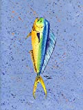 Caroline's Treasures 8349GF Fish Dolphin Flag, Small, Multicolor For Sale