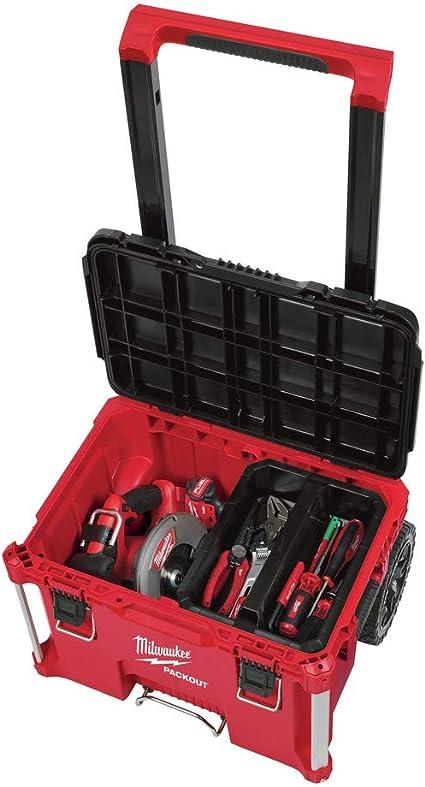 48-22-8426 Packout, 22 pulgadas, caja de herramientas con ruedas: Amazon.es: Bricolaje y herramientas