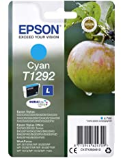 Epson Ink Cart T129 Retail Pack, Cyan, Genuine, Amazon Dash Replenishment Ready