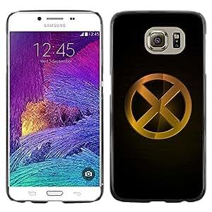 Be Good Phone Accessory // Dura Cáscara cubierta Protectora Caso Carcasa Funda de Protección para Samsung Galaxy S6 SM-G920 // XO X in O