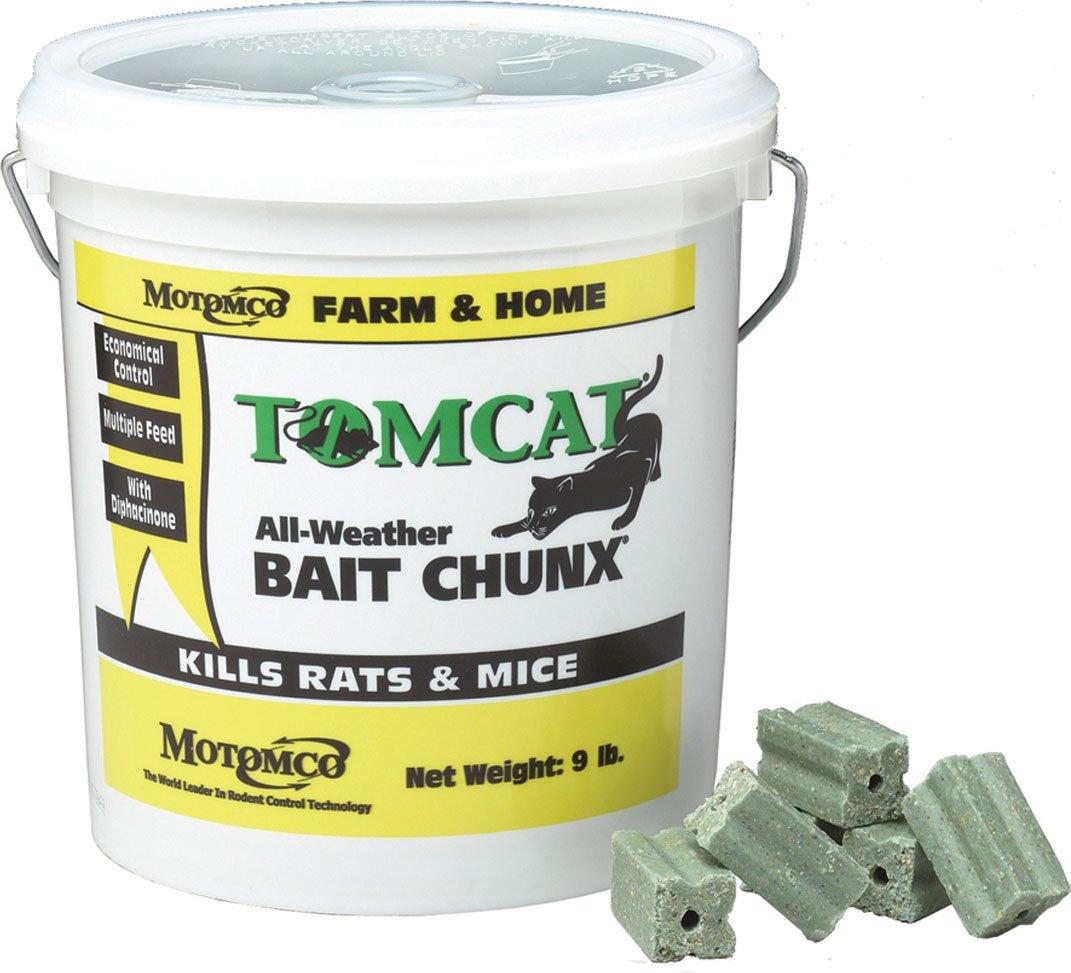 Motomco Tomcat All Weather Bait Chunx, 9-Pound by Motomco