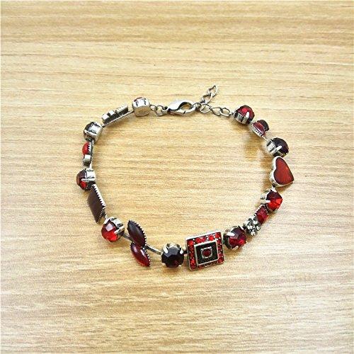 Sweet Diamonds Bracelet (Epoxy Qingdao Foreign Trade jewelry beautiful diamond fashion personality sweet bracelet)
