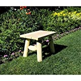 Lakeland Mills Roundabout 47 in. Table with Benches - Set of 5