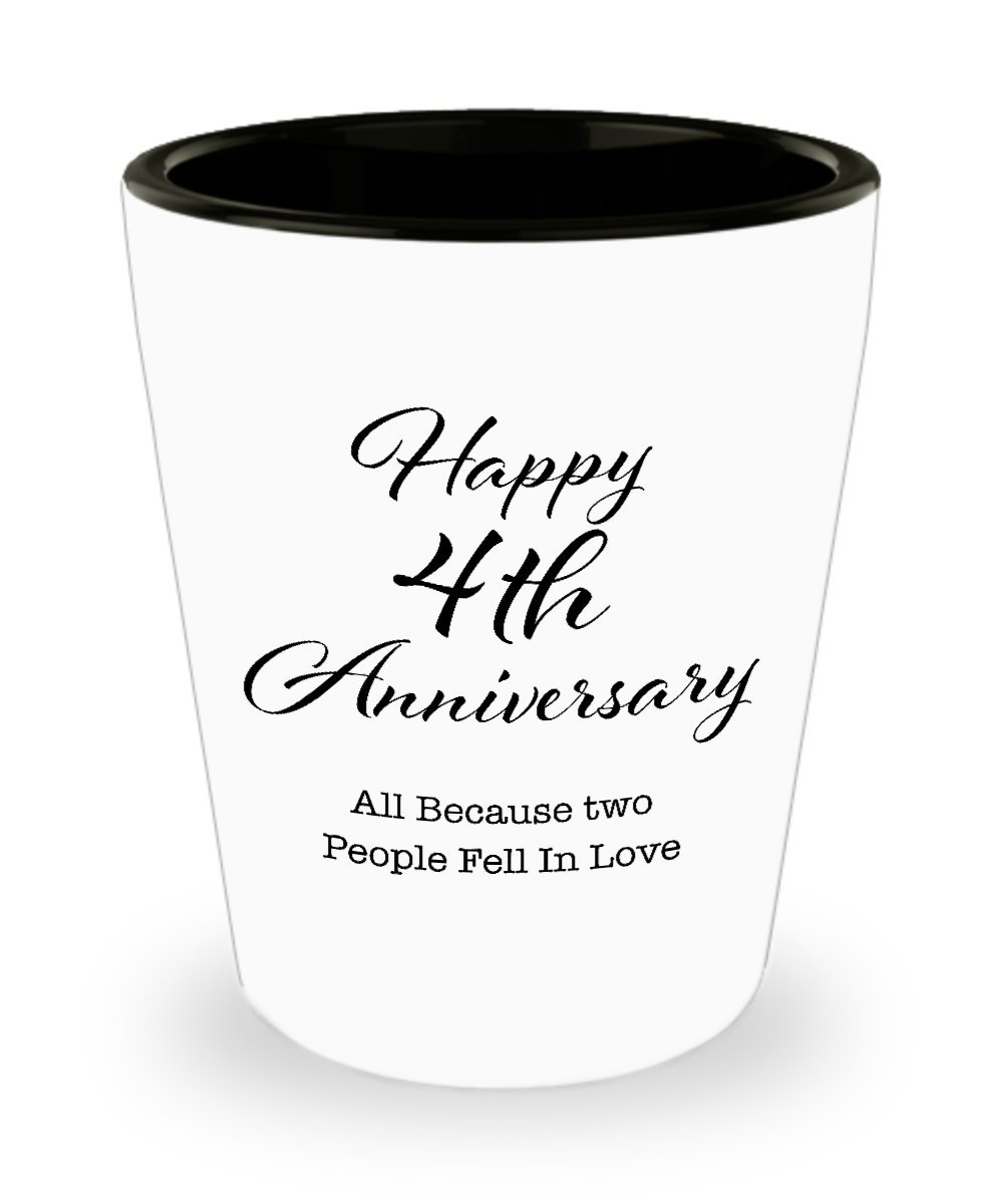 Amazoncom 4 Year Anniversary Gifts For Men Her Couple Husband