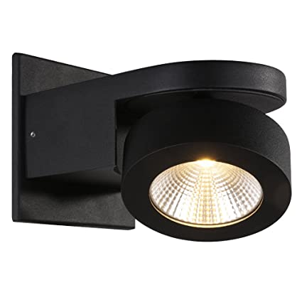 watch 0278a d570c RUNNLY Led Wall Sconce Light Track Spot Black Lighting with Cree Chip 10W,  Directional for Reading Staircase Hallway Office Commercial