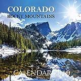 Colorado Rocky Mountains Calendar 2019: 16 Month Calendar