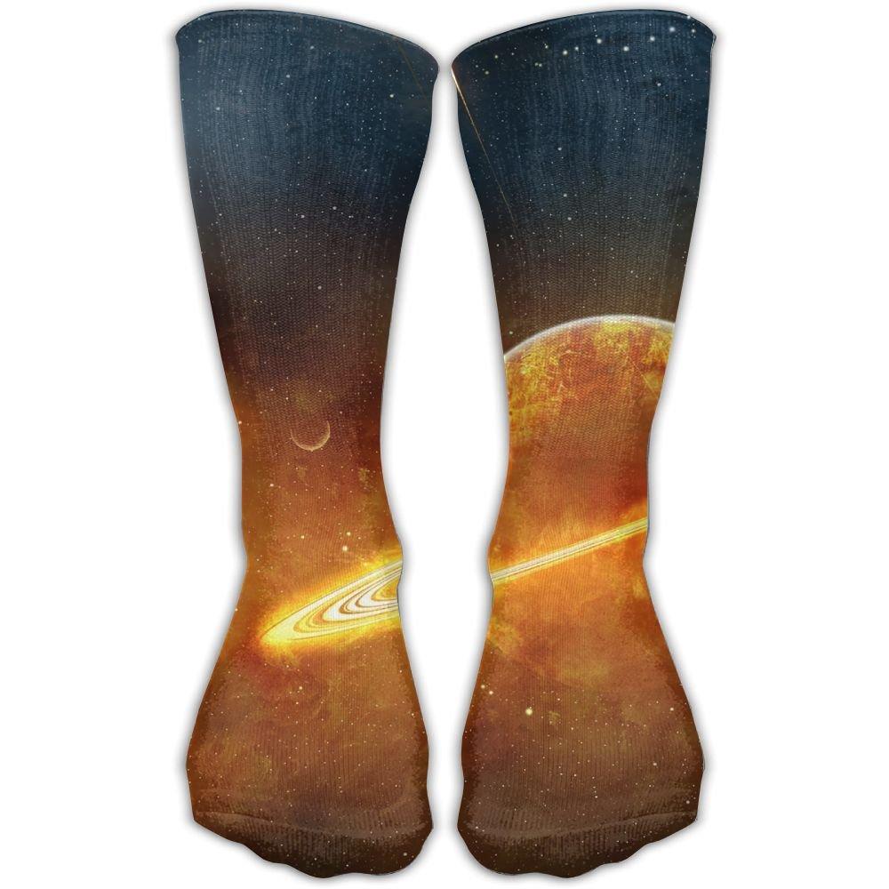 SESY Planets Unisex Crew Socks Short Sports Socks.