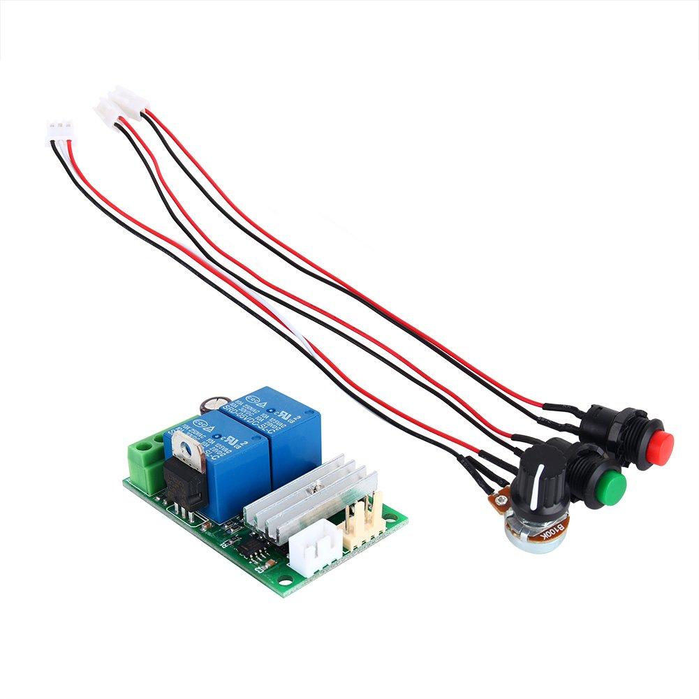Motor Pump Speed Controller PWM Regulator Reversing Switch High Quality DC6V 9V 12V 24V 3A for Fan Pump Blower Engraver Hilitand