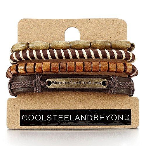 Bracelets Ethnic Tribal Leather Wristbands