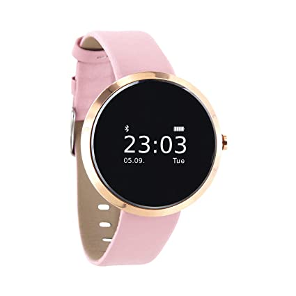 "Xlyne SIONA XW FIT 0.95"" OLED Oro Rosado Reloj Inteligente - Relojes Inteligentes (2"