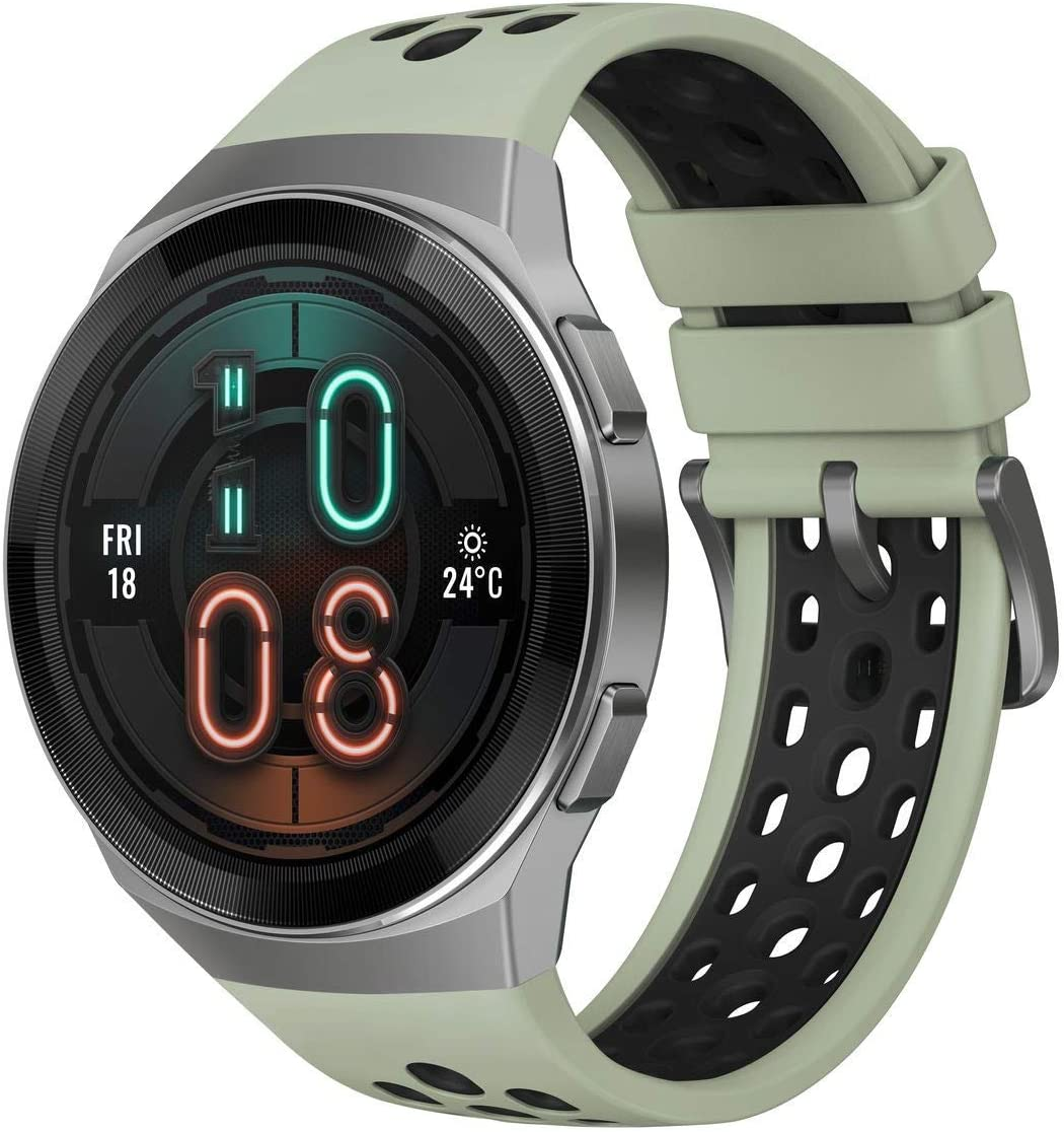 HUAWEI WATCH GT 2e Smartwatch, 1.39 Inch AMOLED HD Touchscreen, 2-Week Battery Life, GPS and GLONASS, Auto-detects 6 Sport Modes, 15 Sport Activities Tracking, SpO2, Heartrate Monitoring, Mint Green