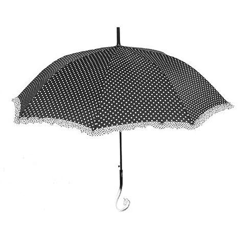 Paraguas Automático Blanco y negro fantasia