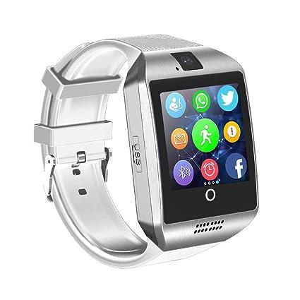 Aeifond Smart Watch Bluetooth Smartwatch Touchscreen Smart Wrist Watch Sports Fitness Tracker with Camera SIM SD Card Slot Pedometer for iPhone iOS ...