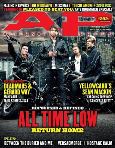 all time low alternative press - 4