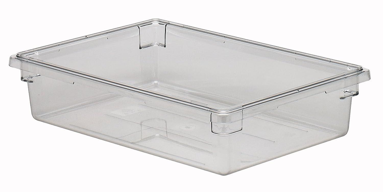 Cambro Camwear 18266CW135 Food Box, 18 by 26 by 6-Inch, Clear