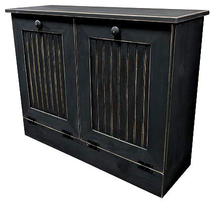 Merveilleux Image Unavailable. Image Not Available For. Color: Sawdust City Double Tilt  Out Trash Cabinet ...